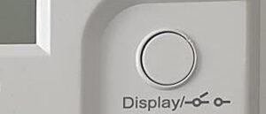 Displayknapp på elmätaren